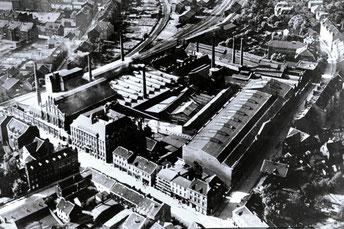 Gussstahlwerk Gelsenkirchen um 1925