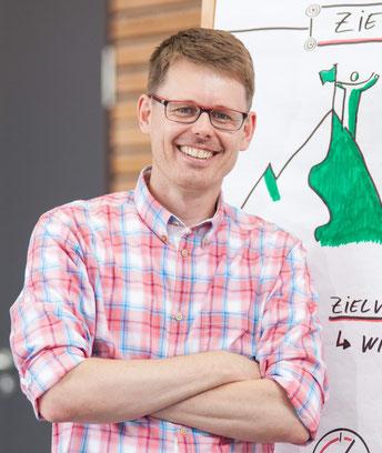 """Heiko Link, Kursleiter der Online-Schulung """"Baustellenmarketing für Kommunen"""""""