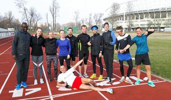 Eine Betreuung gibt es für Athleten unabhängig von der Vereinsmitgliedschaft.