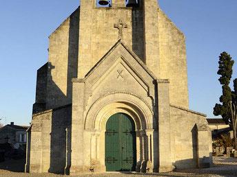 Eglise Saint-André, Cénac. DR