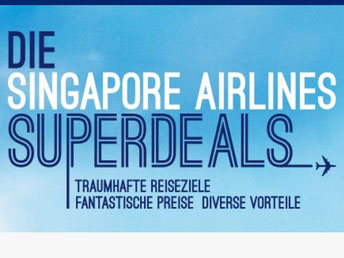 CheckEinfach | Singapore Airlines Superdeals