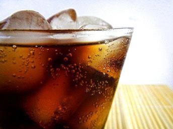 Cola Glas Eis