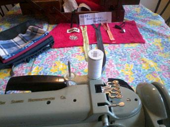 Atelier couture main et mécanique pour débutant