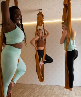 Aerial yoga lessen volgen in Zoetermeer