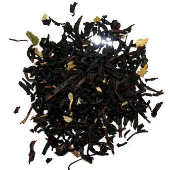 schwarzer loser Tee