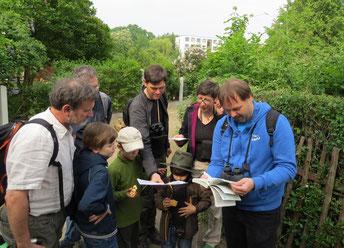NABU-Exkursion zur Stunde der Gartenvögel. Foto: Karsten Peterlein