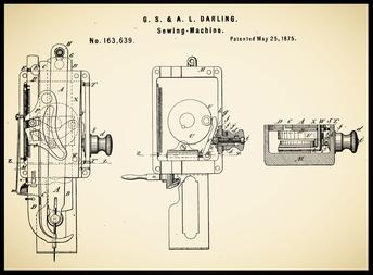 US Patent 163.639 ................................... May 25, 1875