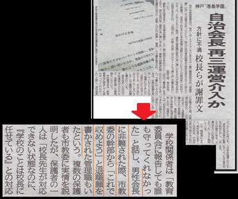 神戸新聞 2月26日より