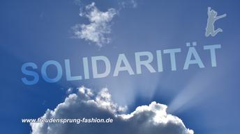 freudensprung der woche - gelebte Solidarität!