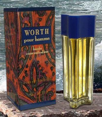 WORTH - WORTH POUR HOMME : EAU DE TOILETTE HAUTE CONCENTRATION