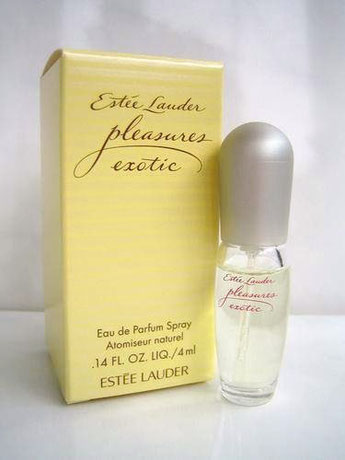 PLEASURES EXOTIC - SPRAY EAU DE PARFUM 4 ML - BOÎTE JAUNE SIMPLE