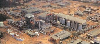Vue de l'usine de la Cellucam