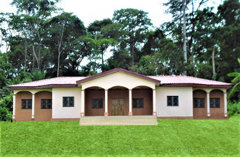 Hotel de ville de Mboma, Region de l'Est-Cameroun