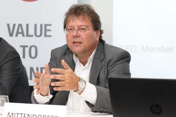 Mittendorfer, Value to brands, European Brand Institute, EBI, Pressekonferenz, ÖMWS2017. Österreichische Marken Wert Studie 2017