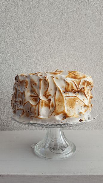 Lemoncurd meringue taart