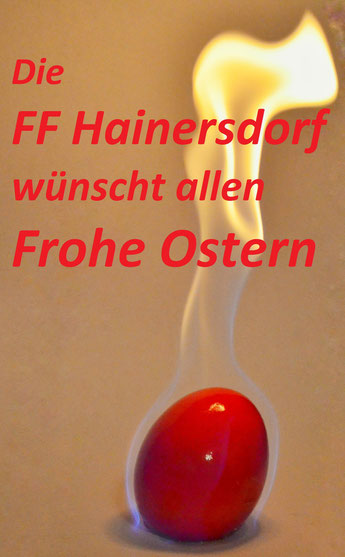Frohe Ostern FF Hainersdorf
