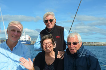 DAVE, NANCY, JOHN, BOB, Horta, 8. Juni 2014