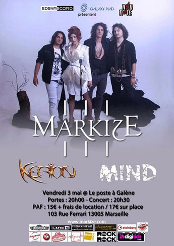 2013-05-03 Markize + Kerion + Mind @ Le Poste à Galène, Marseille