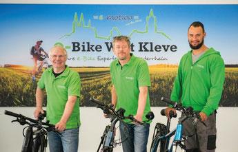 Ihr e-Bike Experten Team in der e-motion e-Bike Welt Kleve