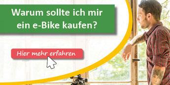 Warum sollte ich mir ein e-Bike kaufen