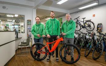 e-Bike Auswahl in der e-motion e-Bike Welt Bochum