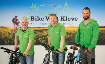 e-Bike Händler der e-motion e-Bike Welt Kleve