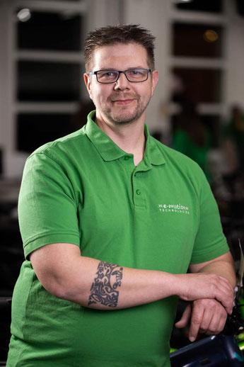 Mirco Theuer,  e-Bike Auslieferung, e-motion e-Bike Premium Shop Velbert