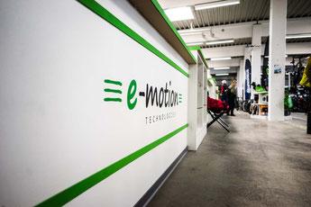 Der e-motion e-Bike Premium Shop in Velbert