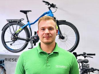 Marlon Baumann: e-Bike Beratung und Verkauf - Leasing und Finanzierung