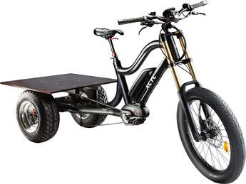 XCYC Lasten/Cargo 25km/h e-Bike Pick-Up Performance 2018