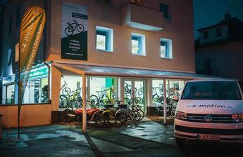 Die e-Bike Experten im e-motion e-Bike Premium-Shop in Köln