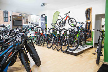 Der e-motion e-Bike Premium Shop in Köln