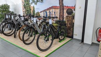 Die e-motion e-Bike Welt in Münchberg