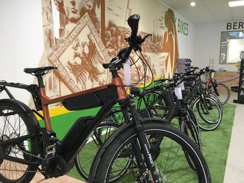 Riese & Müller e-Bikes in der e-motion e-Bike Welt in Bremen probefahren