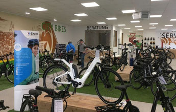 Winora Pedelecs, Speed-Pedelecs und e-Bikes in der e-motion e-Bike Welt in Bremen