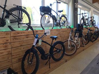 e-Bike Auswahl in der e-motion e-Bike Welt Stuttgart