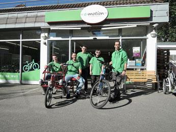 e-Bike Händler der e-motion e-Bike Welt in Stuttgart
