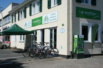 Die e-motion e-Bike Welt in Bonn