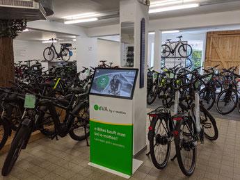 Der e-motion e-Bike Welt Stuttgart