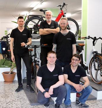 e-Bike Service vom Experten - Das Service-Team der e-Bike Service-Werkstatt Berlin-Steglitz