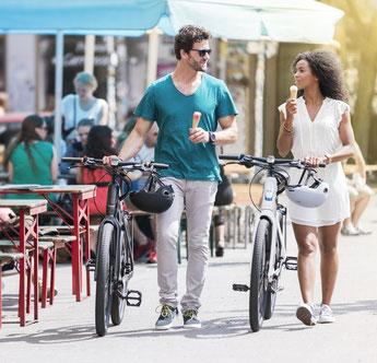 e-Bike und Pedelec Testfahrten, Probefahrten und Beratungen bei den e-motion e-Bike Experten