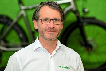 e-motion e-Bike und Pedelec Experte Ingo Klein