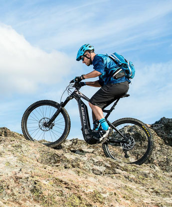 e-Moutainbikes und Ausstattung können Sie im e-motion e-Bike Premium Shop in Hannover vergleichen, ausprobieren und kaufen
