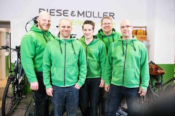 Ihr e-Bike Experten Team im e-motion e-Bike Premium Shop in Köln