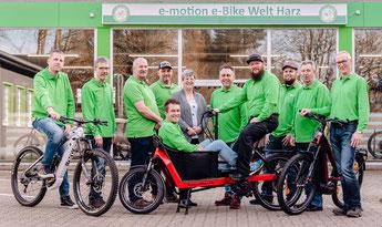 Neue Jobs bei der e-motion e-Bike Welt Harz