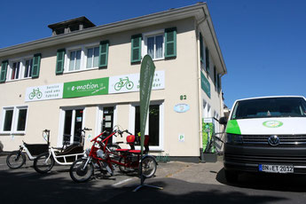 Die e-motion e-Bike Welt in Bonn