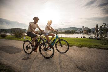 e-Bike kaufen in der e-motion e-Bike Welt in Düsseldorf in der Nähe von Meerbusch