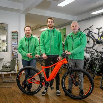 Die e-motion e-Bike Experten in der e-motion e-Bike Welt in Bochum