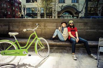 Electra e-Bikes und Pedelecs in der e-motion e-Bike Welt in Berlin-Mitte