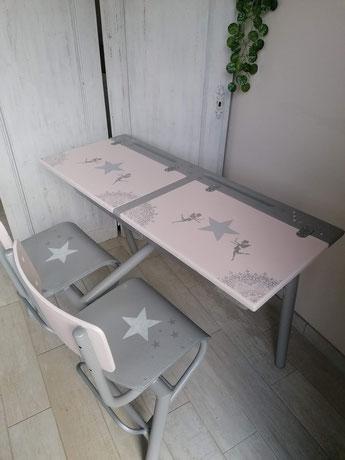 relooking de meubles création bureau écolier le mans sarthe